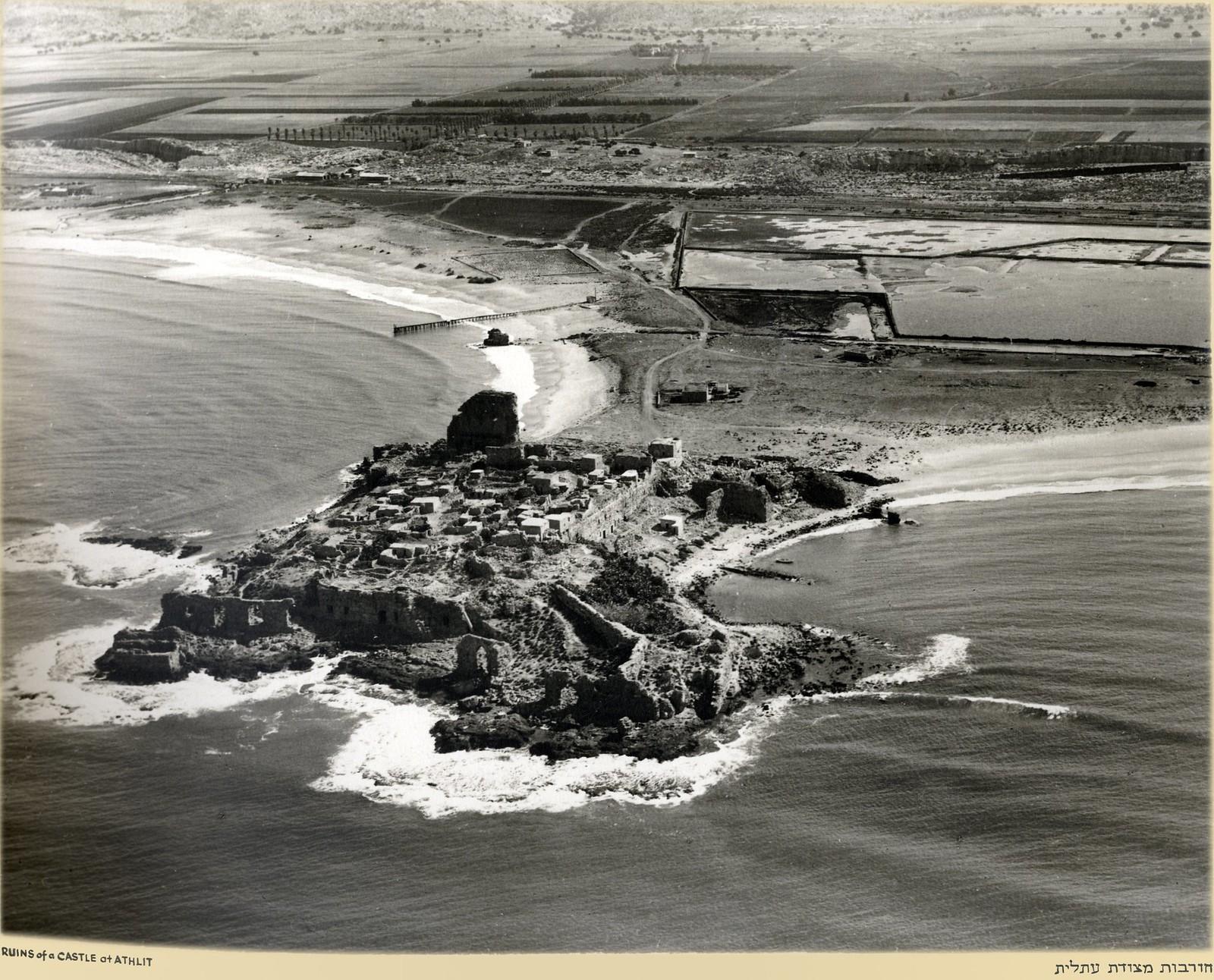 Руины замка Атлит