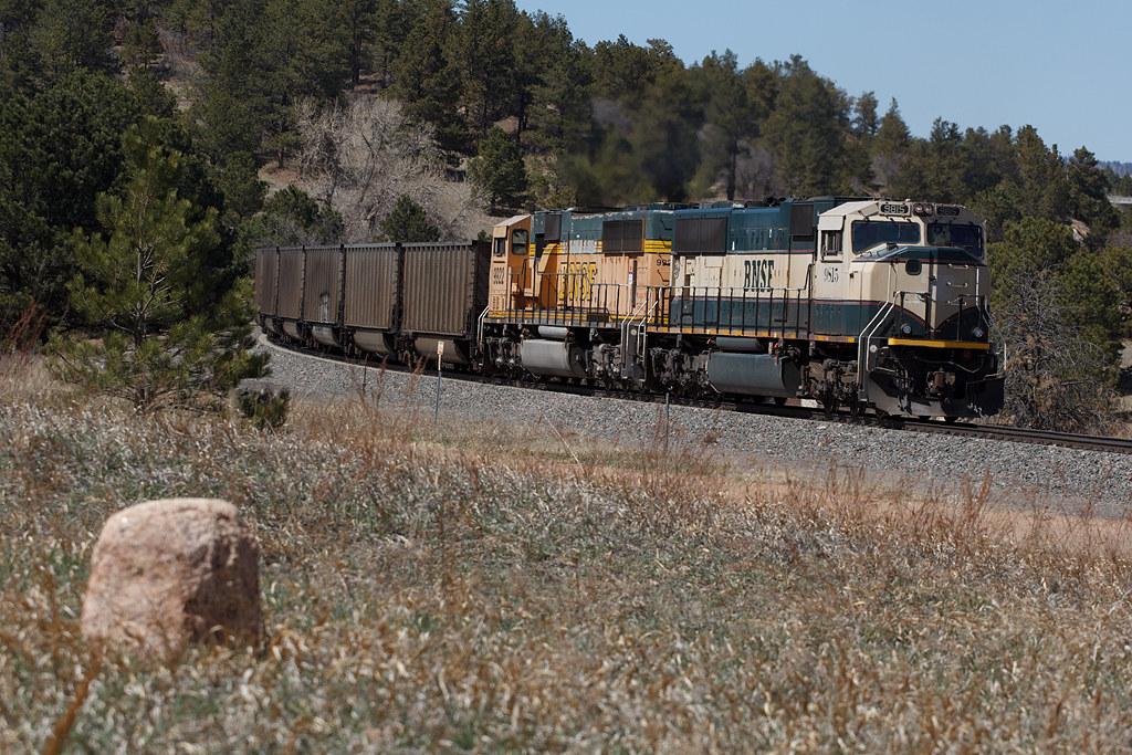 BNSF 9815 USAFA 10 Apr 21