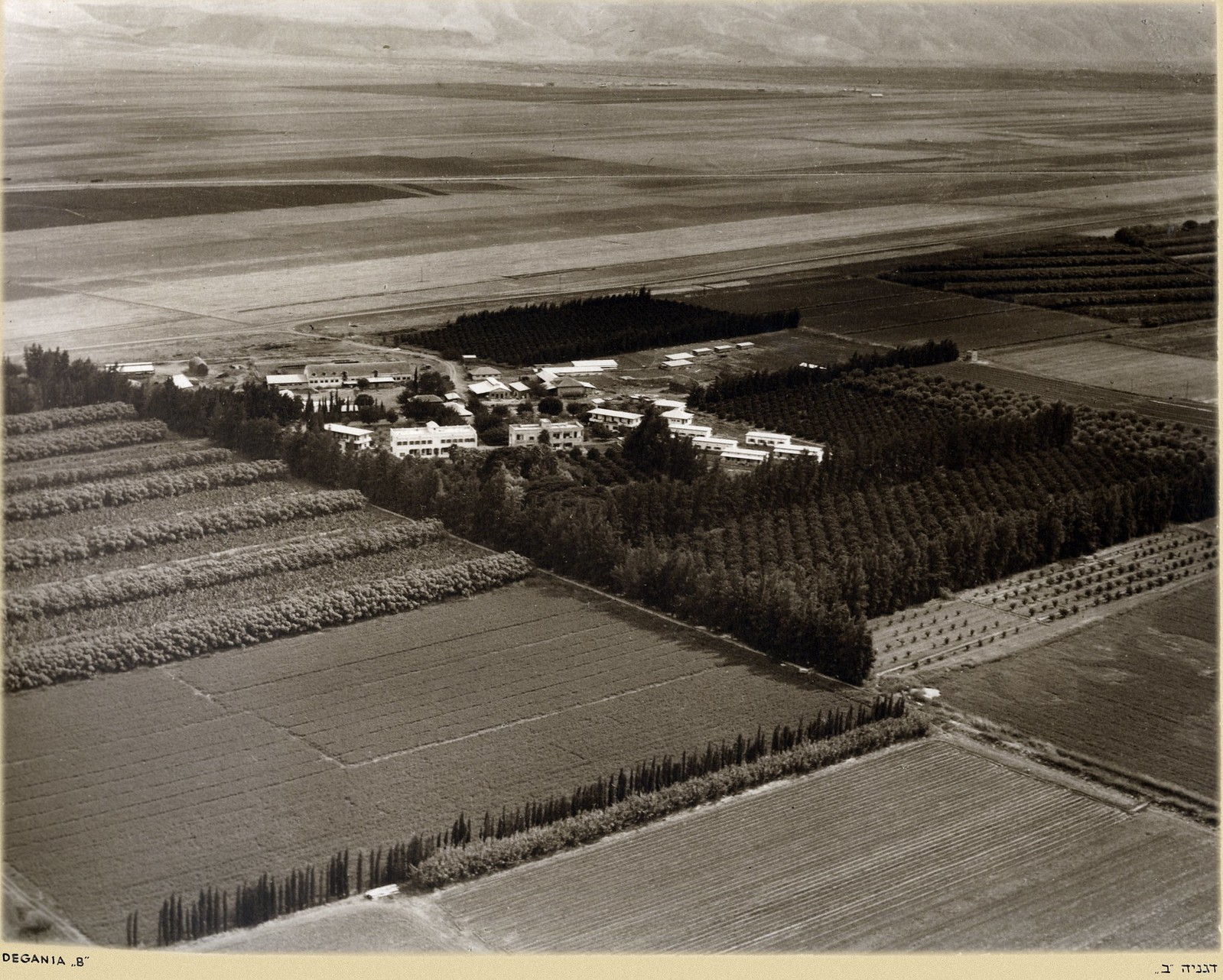 Кибуц Дгания (первый кибуц в Палестине)