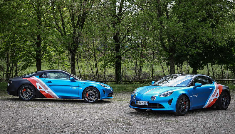 alpine-a110-trackside-cars-debut-as-rad-daily-commuters-for-f1-drivers