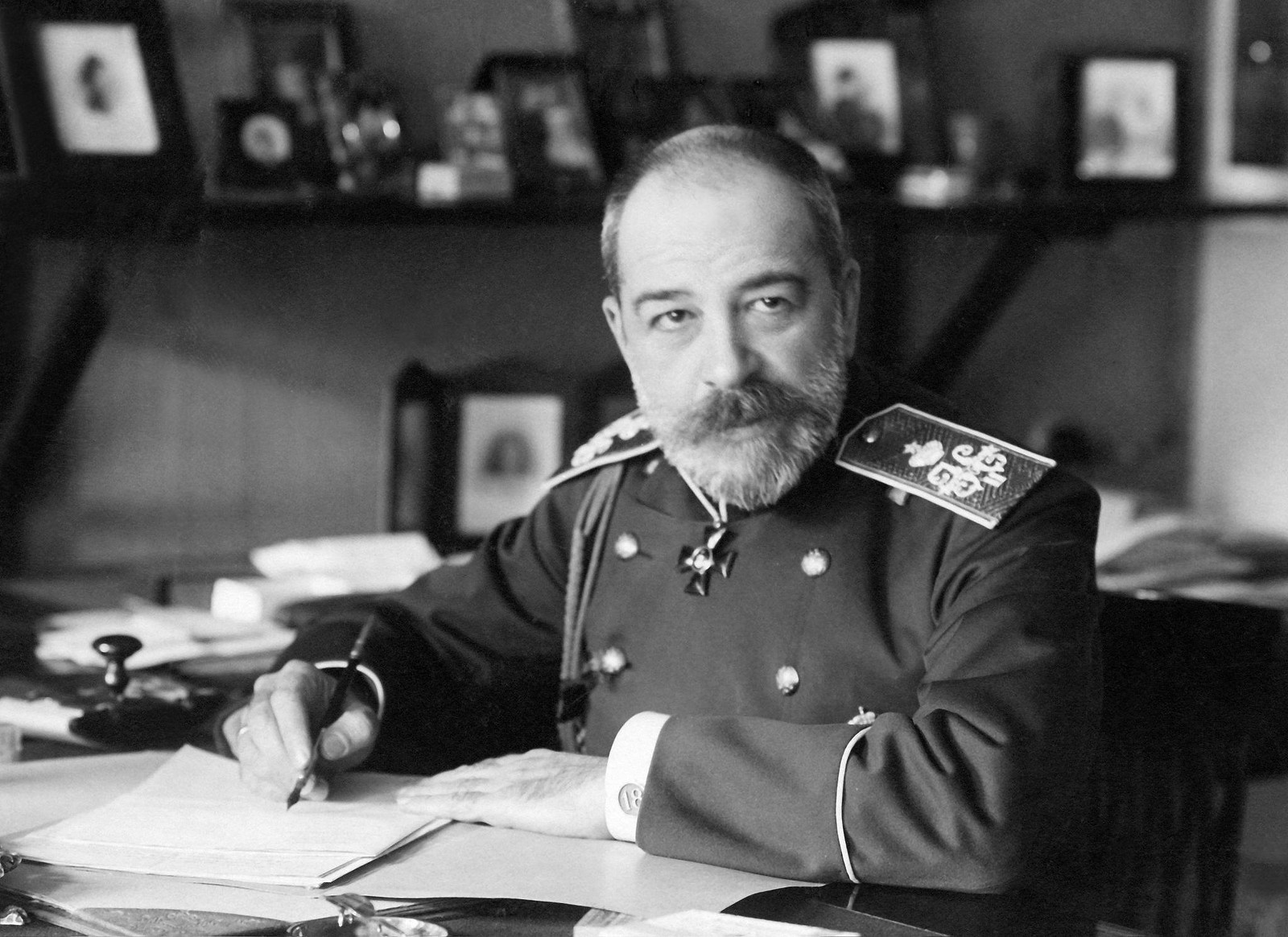 1904. Министр внутренних дел Российской империи Петр Дмитриевич Святополк-Мирский