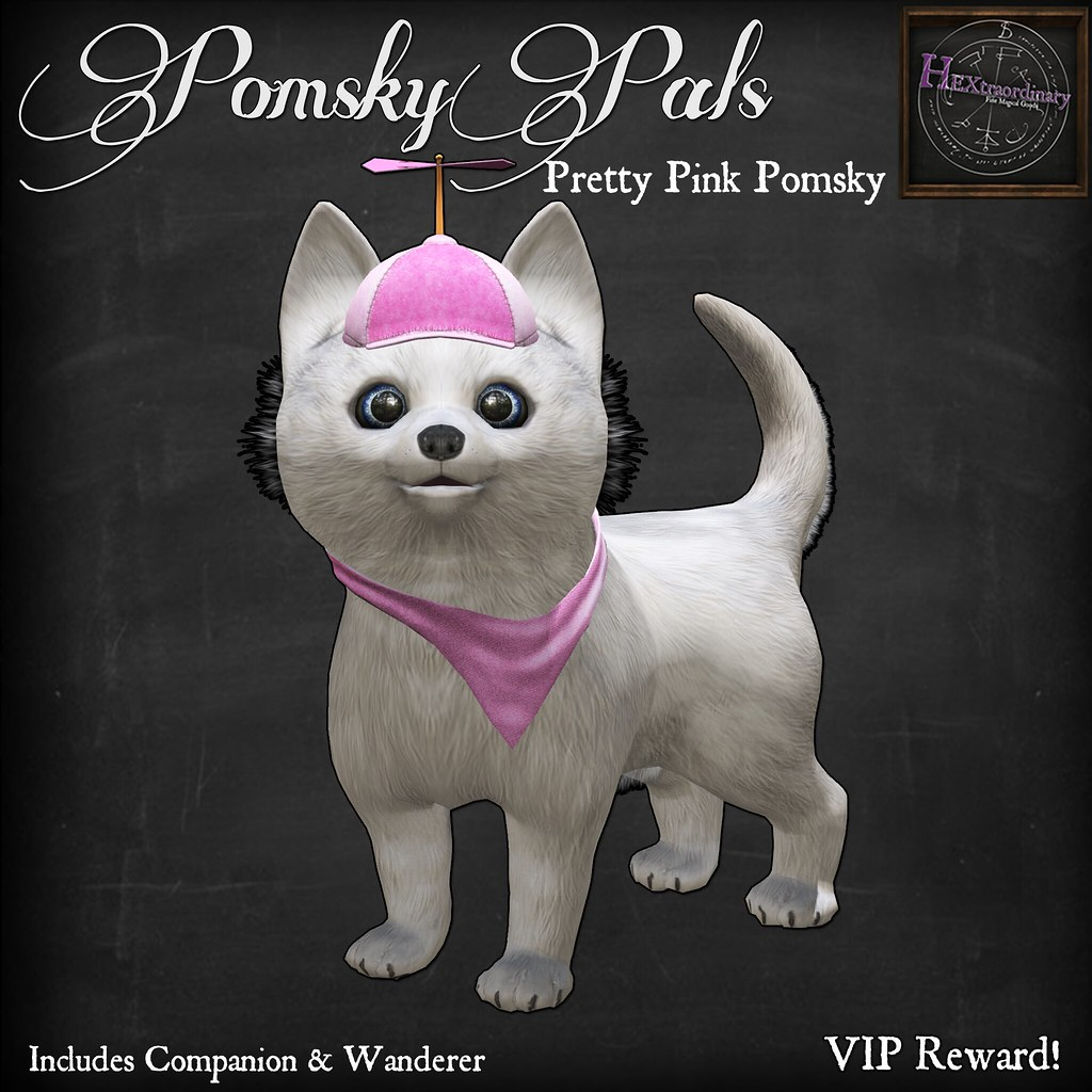 HEXtraordinary - Pomsky Pals: Pretty in Pink at Epiphany