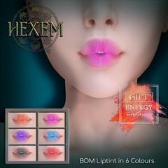 HEXEM Dreamer Liptint Ad