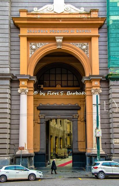 Napoli (NA), 2021, Galleria Principe di Napoli.