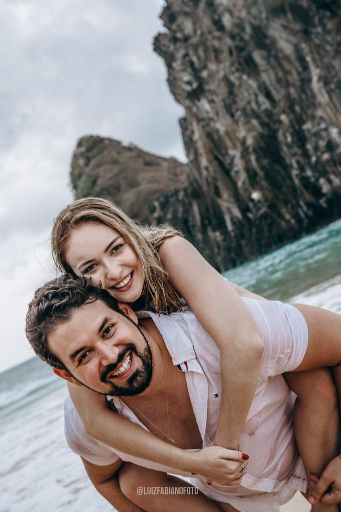 Ensaio de Vanessa e Vitor em Fernando de Noronha