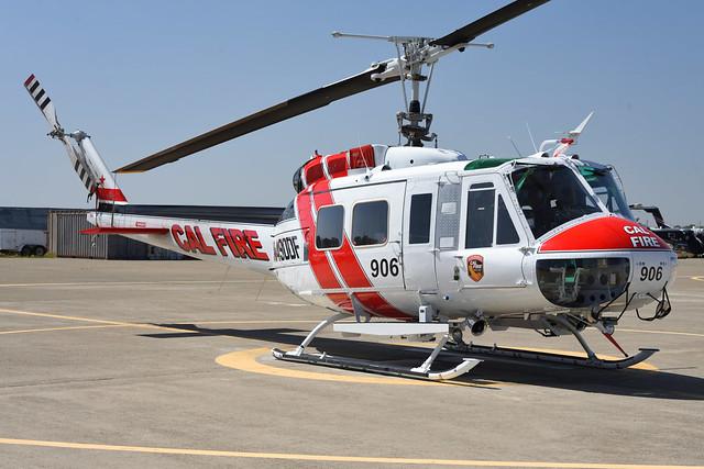 UH-1H N490DF at MCC (1)