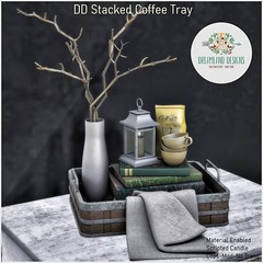 DD Stacked Coffee Tray AD