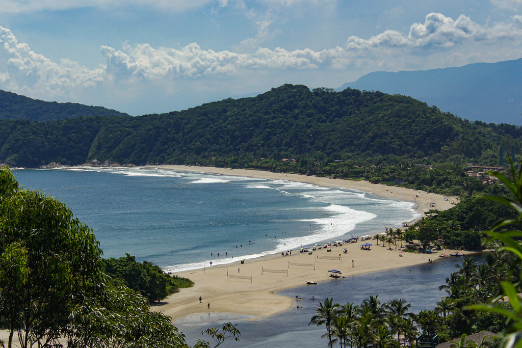 Praia do una