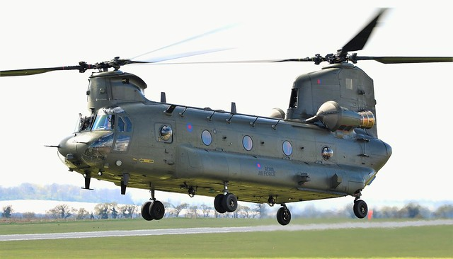 Royal Air Force Boeing Chinook  HC.6A Helicopter ZH891