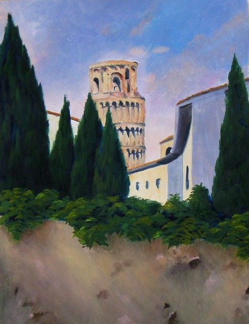 Pisa, Vicolo dietro la Torre