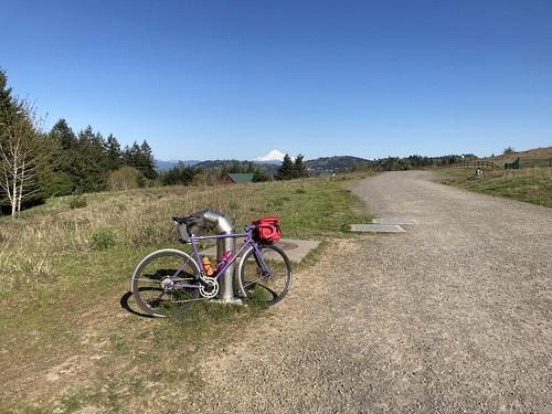 bike & stratovolcano