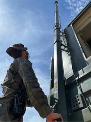 El Regimiento de Transmisiones 21 #rt21 #matrans apoya con medios radio Tetrapol a la #briex 2035
