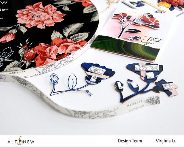 Altenew-Foam Tape-Whimsical Garden Layering Die Set