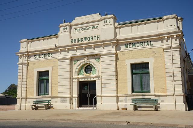 DSC_2425 Soldiers' Memorial Hall, 80 Main Street, Brinkworth, South Australia
