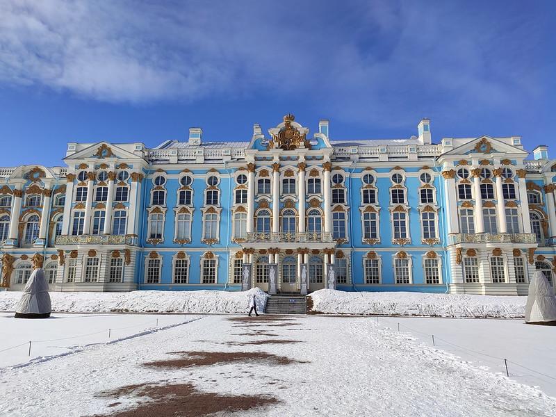 Царское село (Пушкин) - Большой Екатерининский дворец