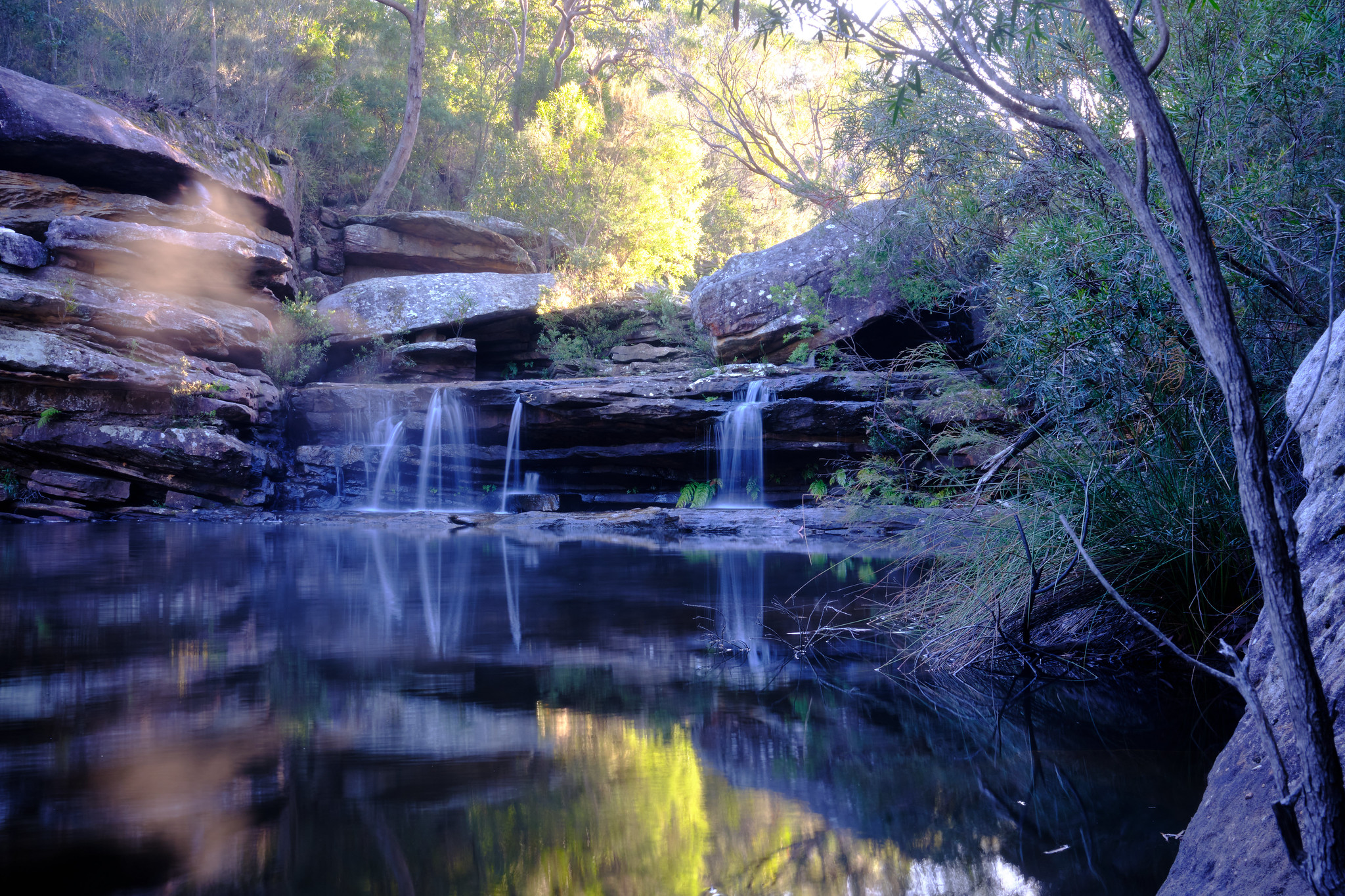 Kingfisher Pool Waterfall