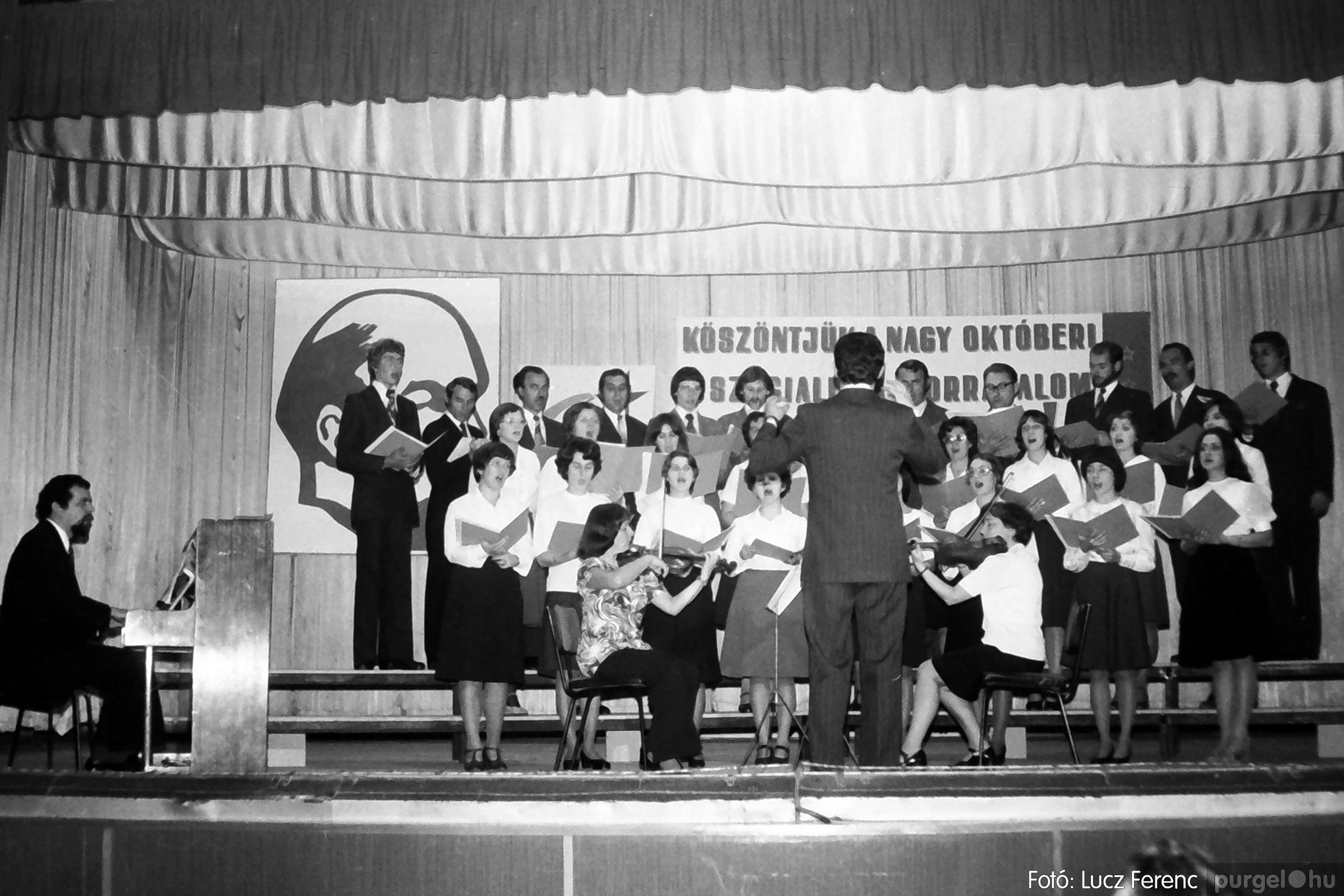 094. 1977.11.07. November 7-i ünnepség 020. - Fotó: Lucz Ferenc.jpg