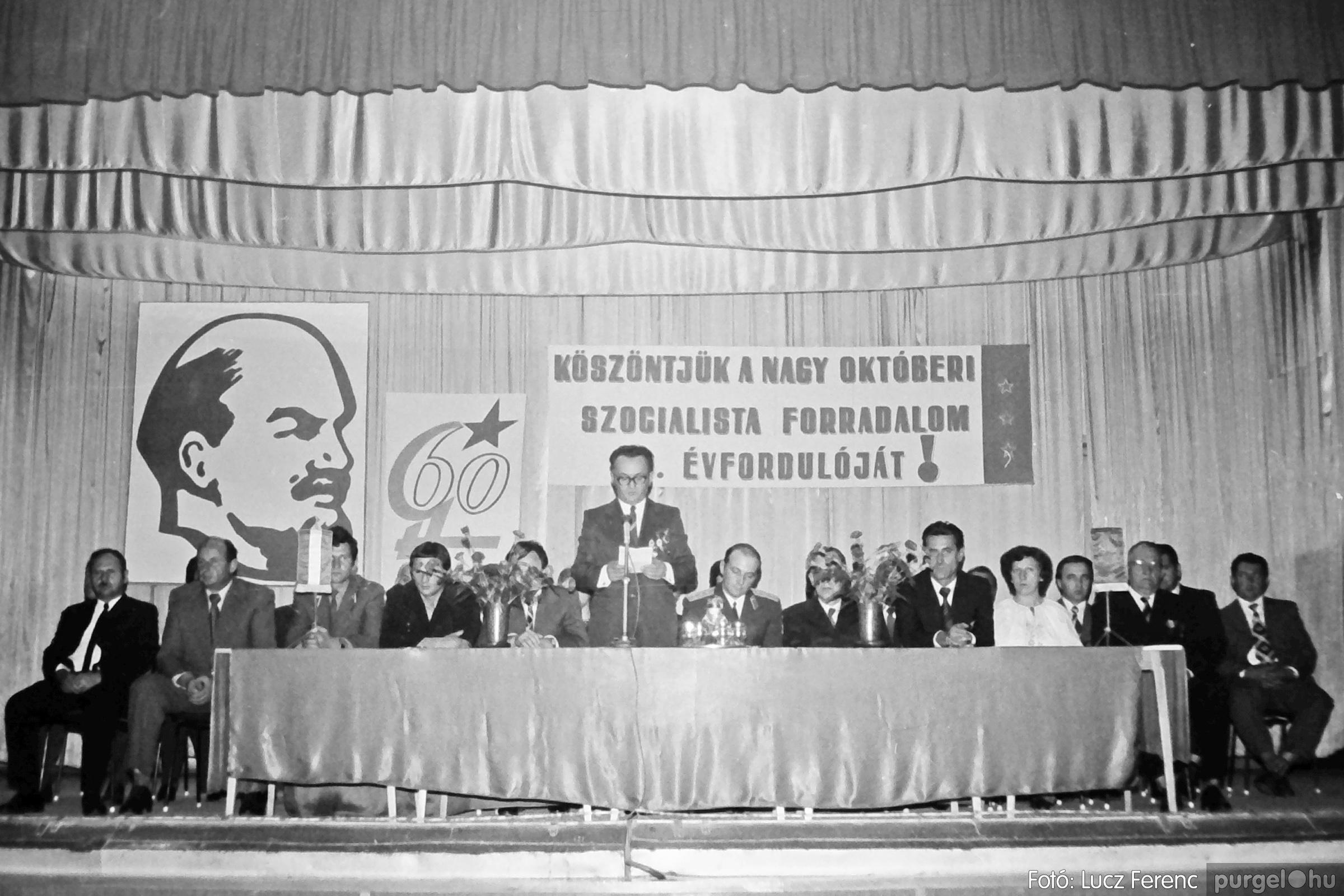 094. 1977.11.07. November 7-i ünnepség 015. - Fotó: Lucz Ferenc.jpg