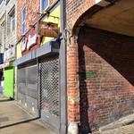 Old alleyway on Friargate at Preston