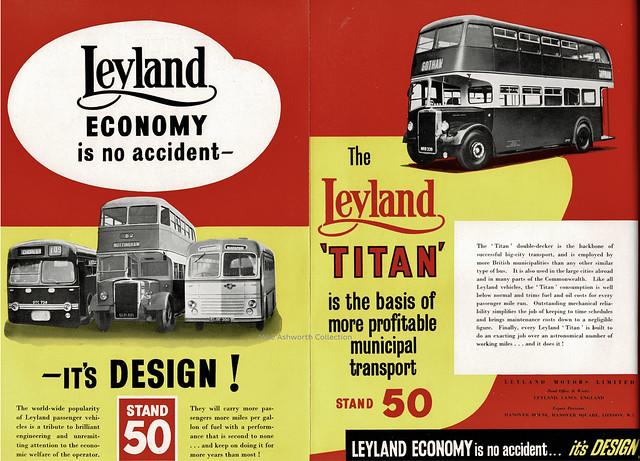 Leyland economy is no accident - it's design! insert to