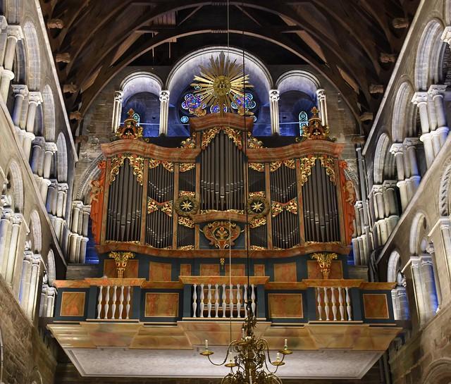 Nidarosdomen — Orgel i nord