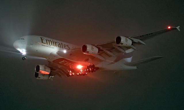 A6-EVG - Airbus A380-842 - LHR