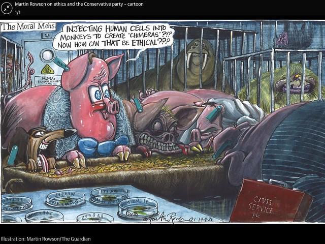 Martin Rowson / The Guardian