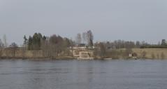 Uzspridzinātā Berlīnes-Helsinku maģistrāles tilta balsti, 11.04.2021.