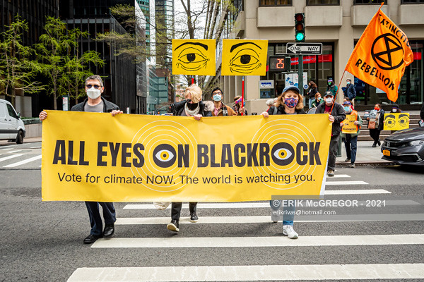 Chase and BlackRock: Stop Fueling Climate Chaos Rally