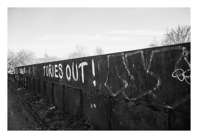 Miner's Strike graffiti