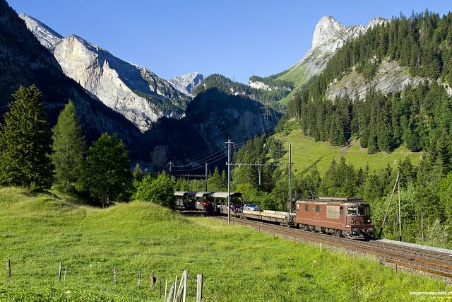 Re 425 190 Autozug / Kandersteg