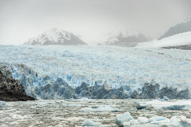 Glacial retreat