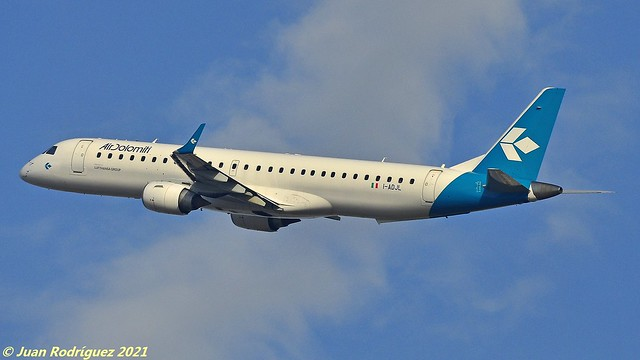 I-ADJL - Air Dolomiti  - Embraer ERJ-195LR (ERJ-190-200 LR) - PMI/LEPA