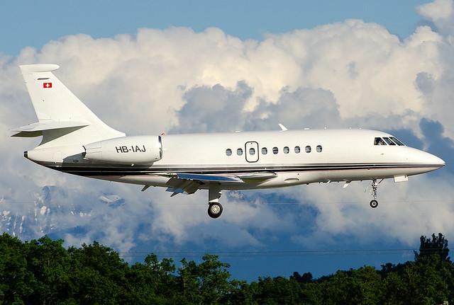 HB-IAJ Dassault Falcon 2000EX