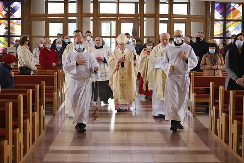 Poświęcenie organów w parafii Zesłania Ducha Świętego w Krakowie