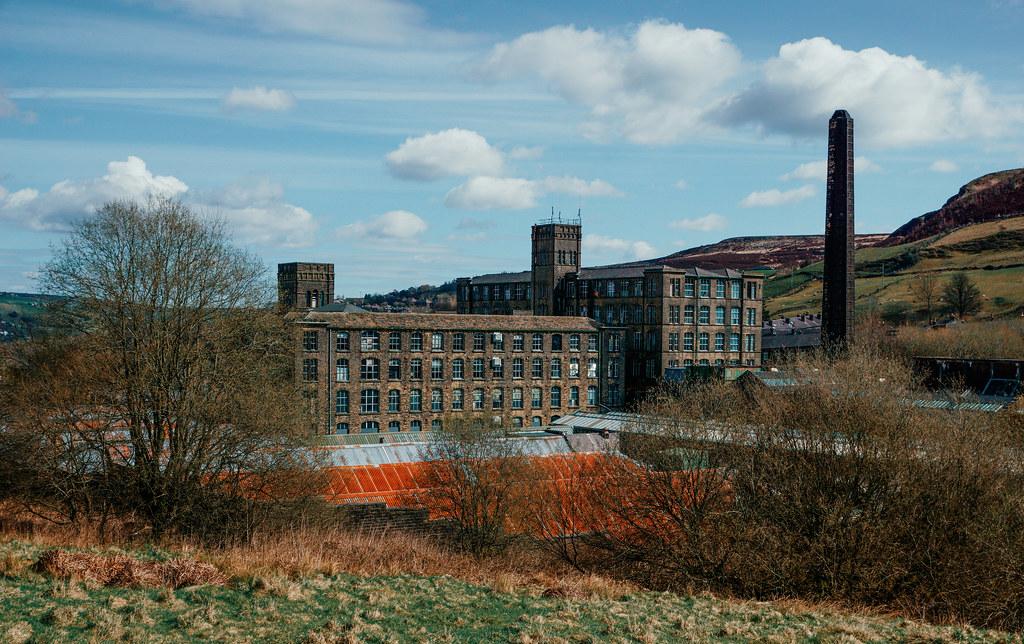 Bank Bottom Mill, Marsden.