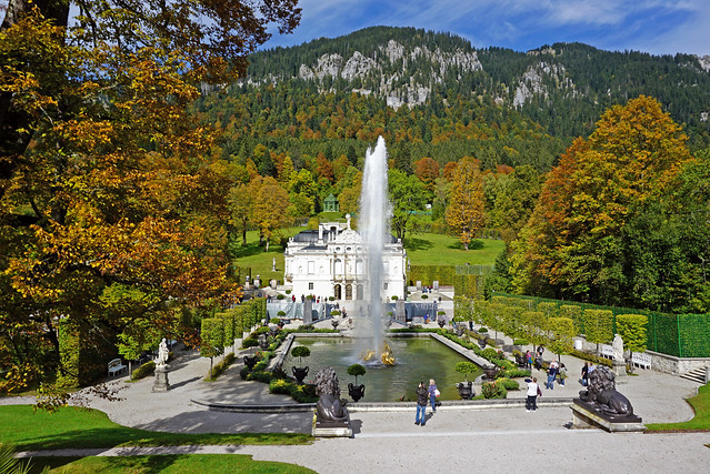 Linderhof Palace and Gardens, Bavaria