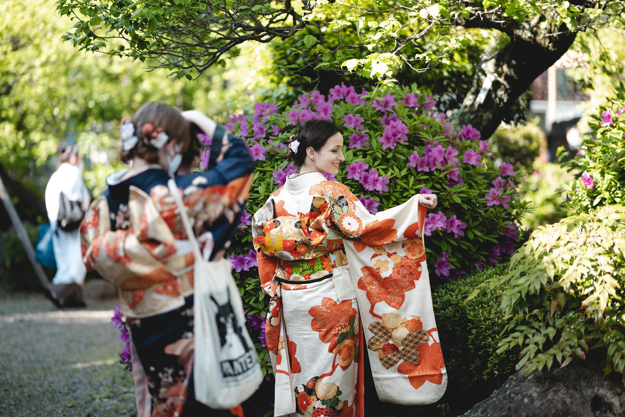 Kimono Memorial Photo