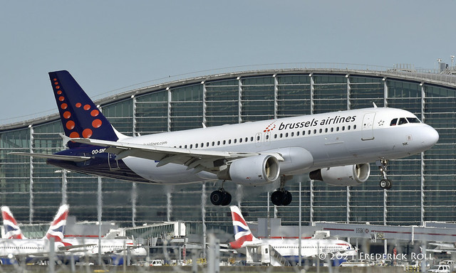 Brussels Airlines A320 ~ OO-SNK