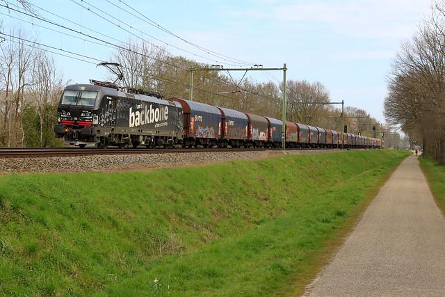 193 318 - DB Cargo - Nieuwstadt