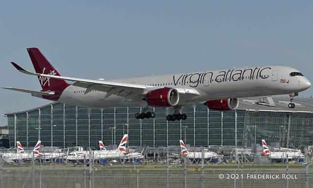 Virgin Atlantic A350 ~ G-VTEA