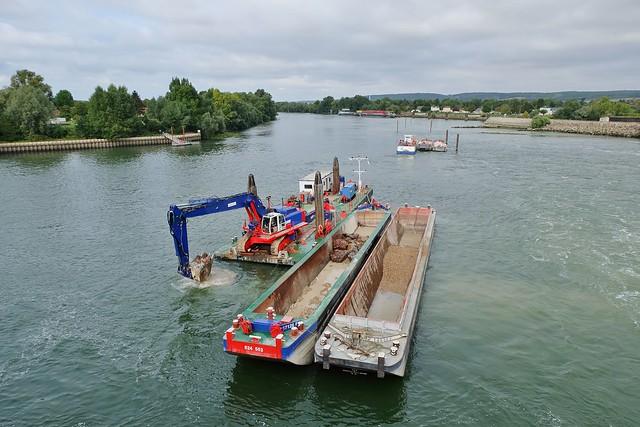 Barrage Ecluses d'Amfreville, Eure