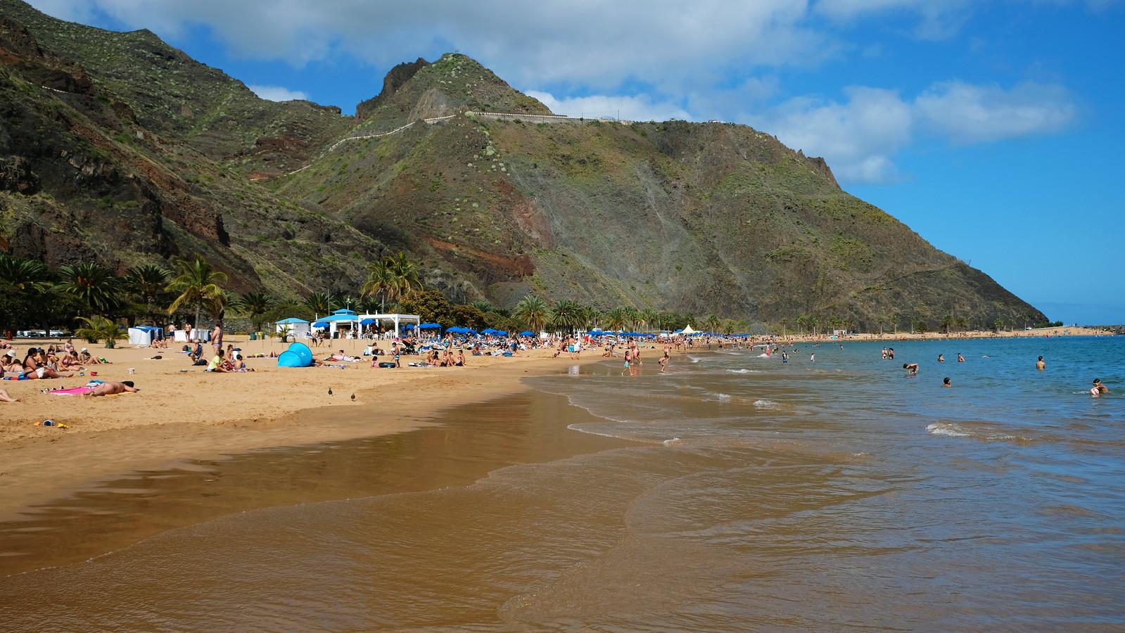 Playa de las Teresitas, Tenerife, Canary Islands, Spain