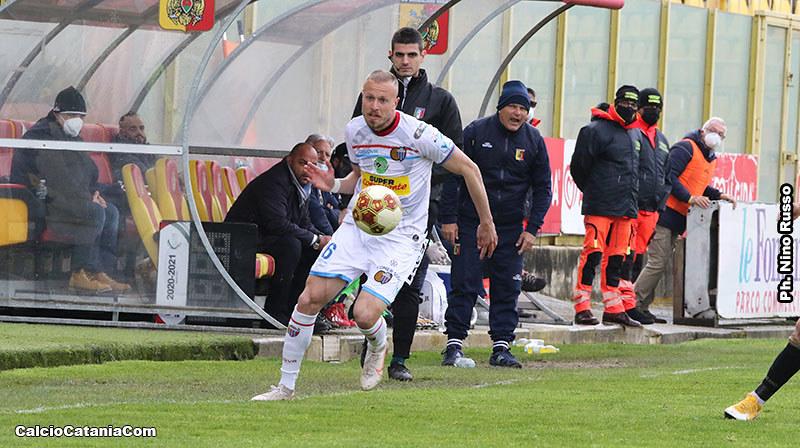 Alessandro Albertini in azione a Catanzaro