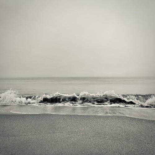 sunrise ocean fog sea sun iphone12promax iphone