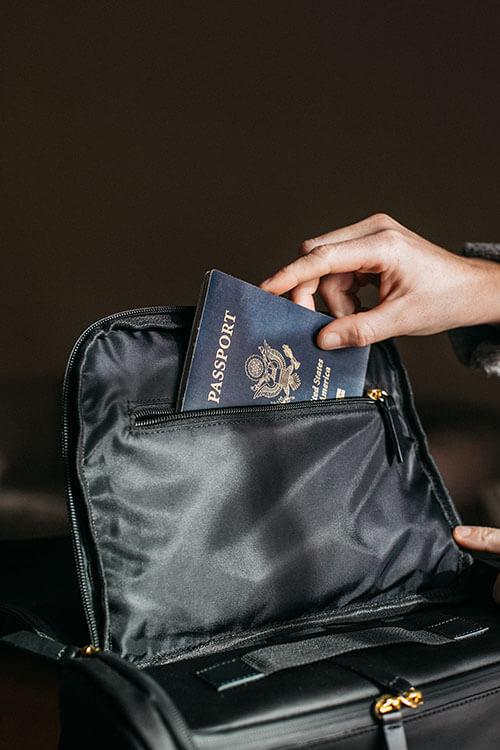 traveller Lost ID or passport