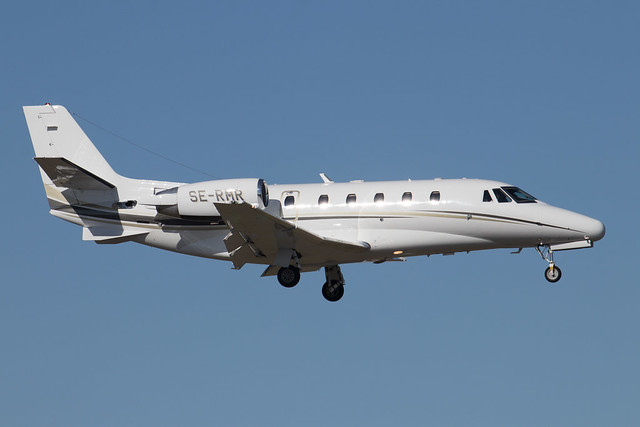 Svenskt Industriflyg Cessna 560XL Citation Excel SE-RMR 210418 BMA