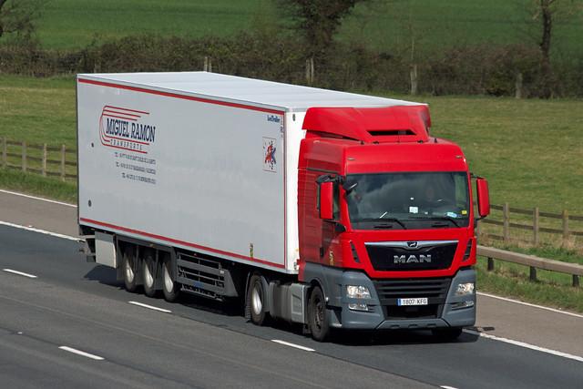 Transportes Carlos MAN TGX 1807KFG
