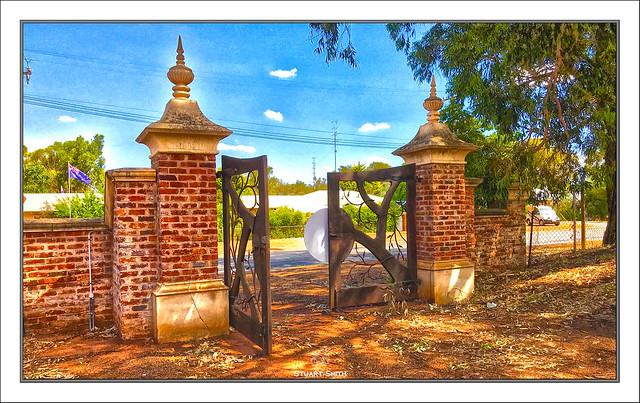 Gates, Old Flour Mill, Henrietta Street, York, Western Australia