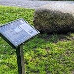 Tom Benson's stone in Preston